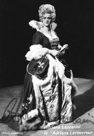 Adriana Lazzarini ne La Principessa di Bouillon