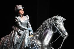 Mariella Devia nei panni di Annal Bolena al Teatro Massimo di Palermo