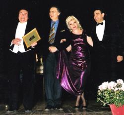 Concerto a Novellara il 25 aprile 1999 con Cecchele, Franco Tagliavini, Daniela Favi Borgognoni e A. Zese