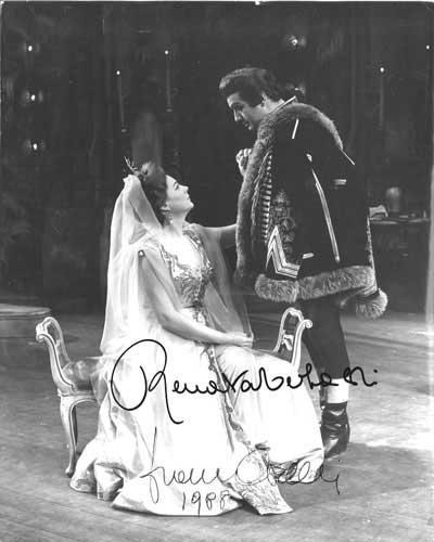 Franco Corelli e Renata Tebaldi