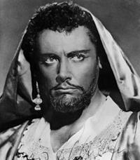 Mario Del Monaco nei panni di Otello di Giuseppe Verdi