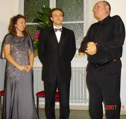 Gloria Bellini, Diego Bellini, Luigi Brotto