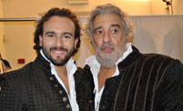 Leonardo Cortellazzi, tenore e Placido Domingo, tenore