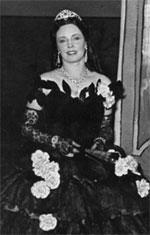 Magda Olivero nei panni di Violetta in Traviata