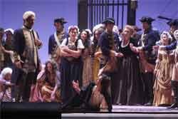 Immagini della recensione di Gigi Scalici dell'Opera MANON LESCAUT andata in scena al Teatro Massimo di Palermo il 15 giugno 2008