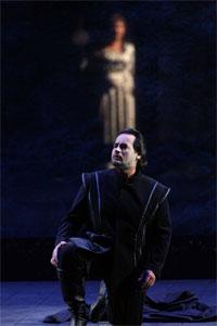 Foto di José Bros ne I Puritani di Vincenzo Bellini in scena al Teatro Massimo di Palermo