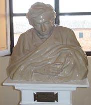 Busto di Giacomo Leopardi
