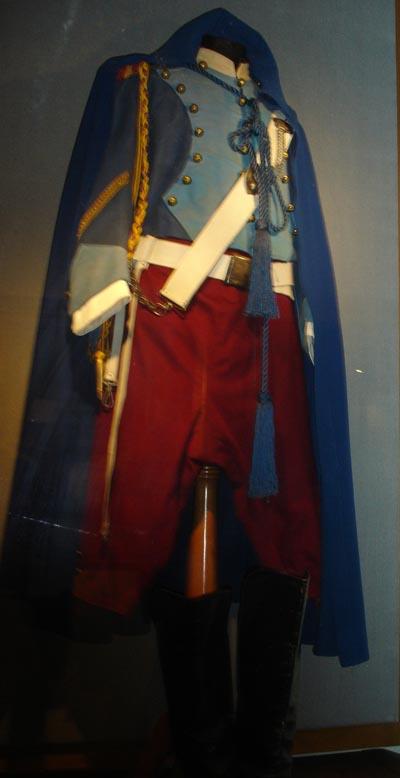 Costume di scena di Beniamino Gigli ottimamente conservato presso il Museo di Recanati