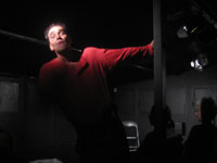 Paolo Canteri in Rigoletto di Giuseppe Verdi allo Spazio Frigia di Milano - Regia di Giacomo Agosti e direzione musicale di Emanuele De Filippis
