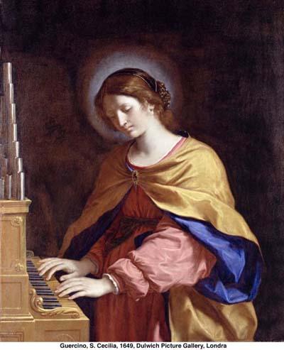 S. Cecilia di Guercino - 1649 - Dulwich Picture Gallery LONDRA