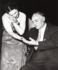 Renata Tebaldi nel concerto in onore di Beniamino Gigli