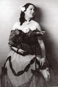 Renata Tebaldi nei panni di Violetta nella Traviata