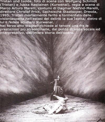 Scena di Tristan und Isolde di Richard Wagner